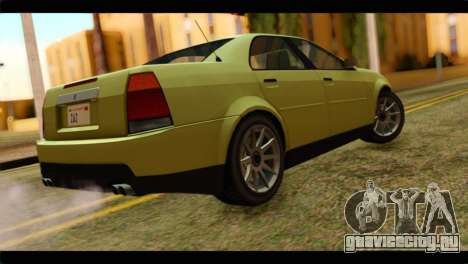 GTA 4 Presidente для GTA San Andreas вид слева
