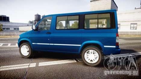 УАЗ-3165 Симба для GTA 4 вид слева