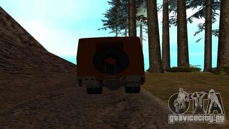Roman Bus Edition для GTA San Andreas вид сзади