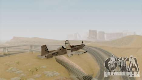 EMB T-6A Texan II US Navy для GTA San Andreas вид слева