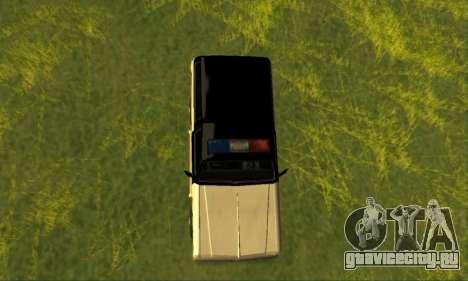 Beta Police Ranger для GTA San Andreas вид справа