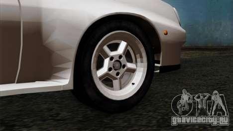Opel Manta 400 v2 для GTA San Andreas вид сзади слева