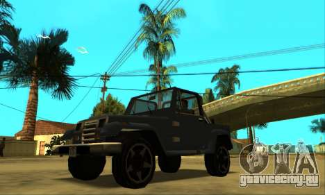 Mesa Final для GTA San Andreas вид снизу