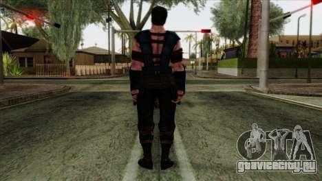 Sub-Zero Skin Mortal Kombat X для GTA San Andreas второй скриншот
