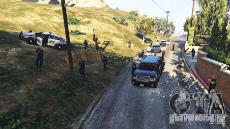 Hardcore Police Chasing для GTA 5 третий скриншот