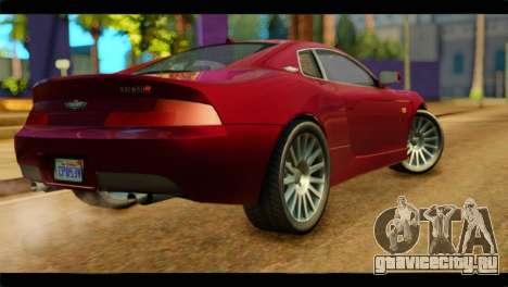 MP3 Dewbauchee XSL650R для GTA San Andreas вид слева