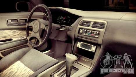 Nissan Silvia S14 Umi Sonoda Paintjob Itasha для GTA San Andreas вид справа
