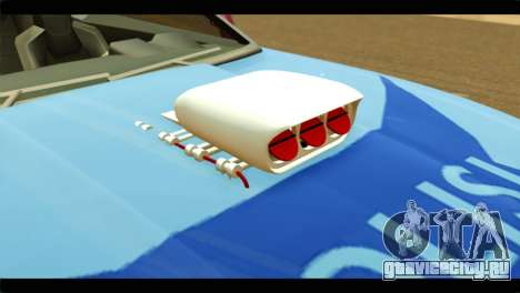 Chevrolet Camaro Indonesia Police для GTA San Andreas вид сзади