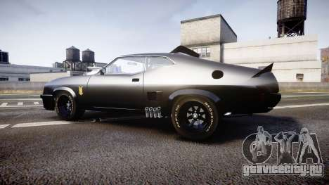Ford Falcon XB GT351 Coupe 1973 Mad Max для GTA 4 вид слева