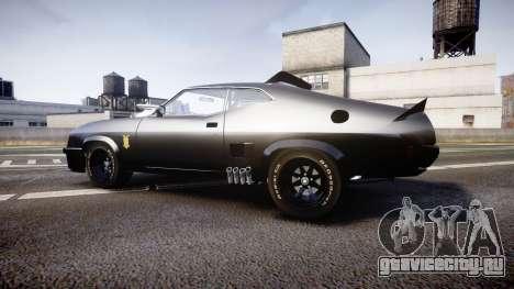 Ford Falcon XB GT351 Coupe 1973 Mad Max для GTA 4 вид слева