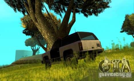 Beta Police Ranger для GTA San Andreas вид сверху