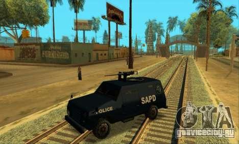 Beta FBI Truck для GTA San Andreas вид сбоку