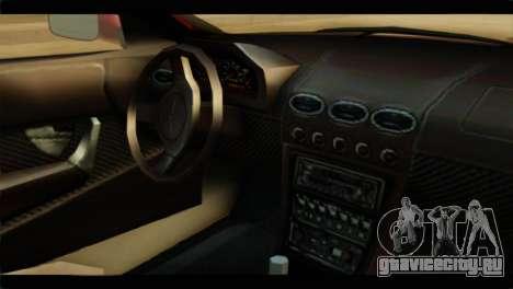 MP3 Dewbauchee XSL650R для GTA San Andreas вид справа