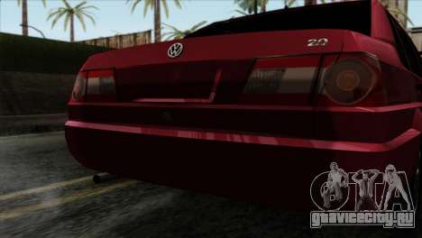 Volkswagen Santana для GTA San Andreas вид сзади