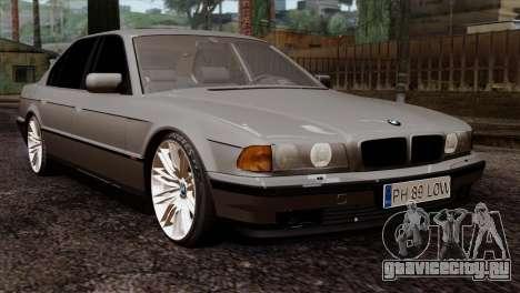 BMW 750iL E38 Romanian Edition для GTA San Andreas