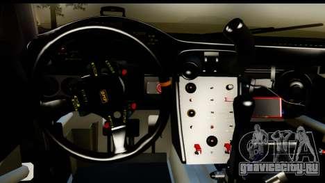 Porsche 911 GT3 RSR 2007 Flying Lizard для GTA San Andreas вид изнутри