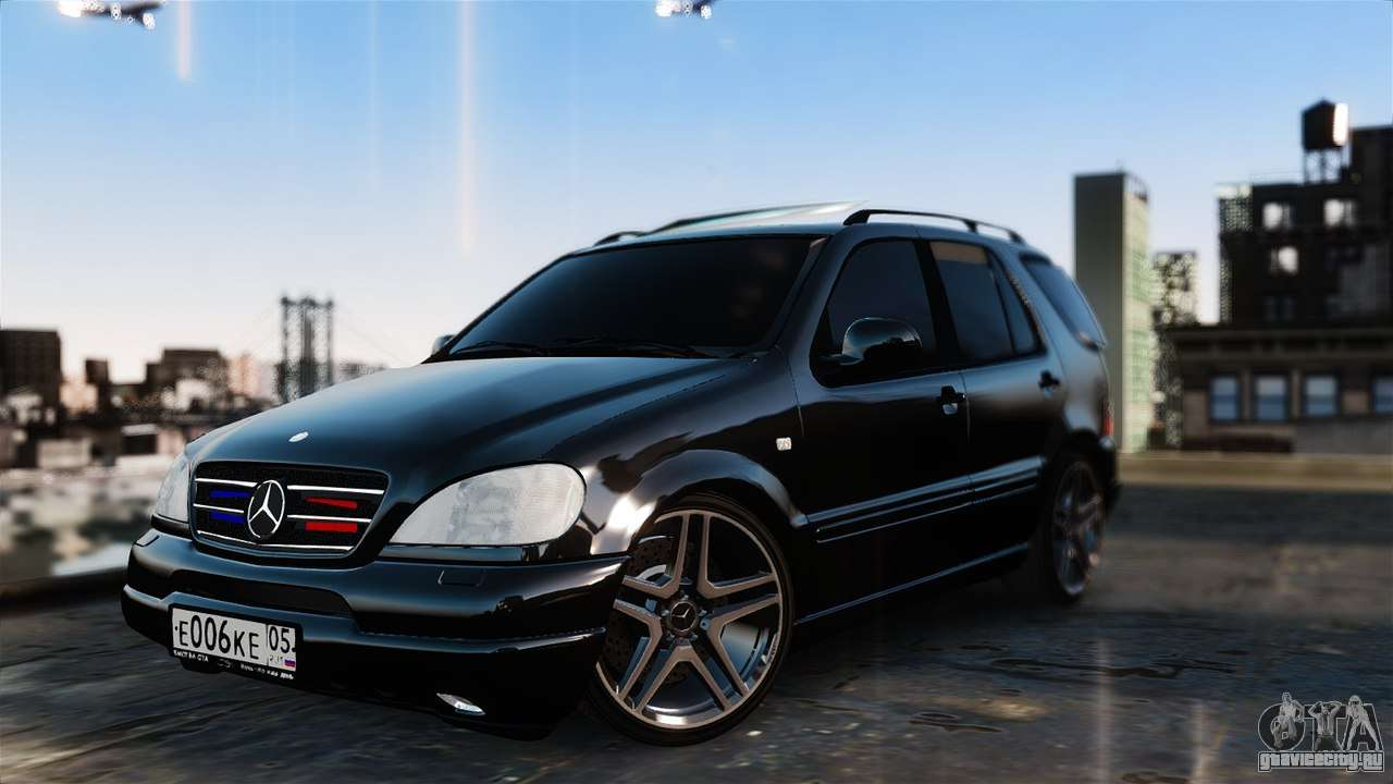 mercedes benz ml 55 amg gta 4. Black Bedroom Furniture Sets. Home Design Ideas