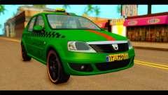 Dacia Logan Iranian Taxi для GTA San Andreas