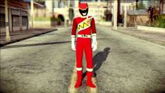 Power Rangers Kyoryu Red Skin для GTA San Andreas