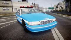 Chevrolet Caprice 1993 LCPD Without Hubcabs ELS