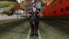 Sub-Zero Skin Mortal Kombat X для GTA San Andreas