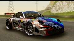 Porsche 911 GT3 RSR 2007 Flying Lizard для GTA San Andreas