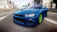 Nissan Skyline BNR34 GT-R V-SPECII 2002 для GTA 4