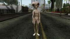 Zeta Reticoli Alien Skin from Area 51 Game для GTA San Andreas