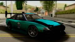 Nissan 200SX S13 Skin для GTA San Andreas