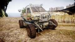 Военный бронированный грузовик