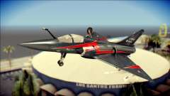 Dassault Mirage 2000-10 Black для GTA San Andreas