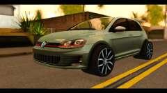 Volkswagen Golf Mk7 2014 для GTA San Andreas