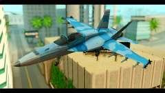 FA-18 Super Hornet Aggressor Squadron для GTA San Andreas