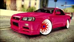 Nissan Skyline GTR V Spec II для GTA San Andreas
