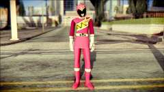 Power Rangers Kyoryu Pink Skin