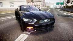 Ford Mustang GT 2015 FBI Unmarked [ELS] для GTA 4