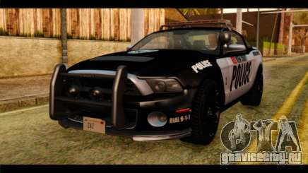 NFS Rivals Ford Shelby GT500 Police для GTA San Andreas