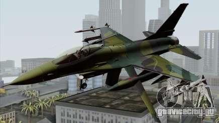 F-16C USAF CAS-EURO для GTA San Andreas