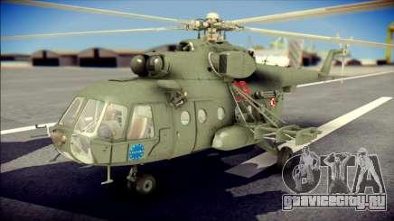 Mil Mi-8 Polish Air Force EUFOR для GTA San Andreas