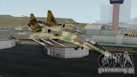 SU-35 Flanker-E ACAH для GTA San Andreas