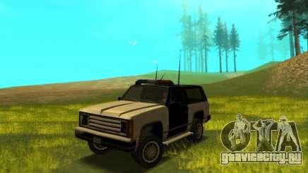 Beta Police Ranger для GTA San Andreas
