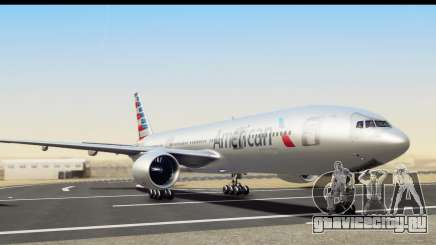 Boeing 777-200ER American Airlines для GTA San Andreas