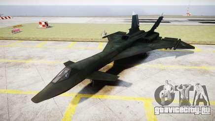 МиГ-31 Огненный лис MEC PJ для GTA 4