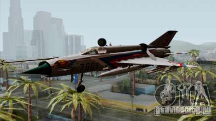 MIG-21MF Slovak Air Force SLP для GTA San Andreas