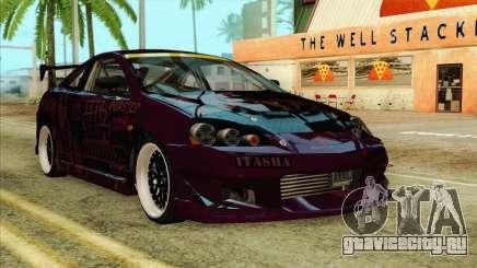 Acura RSX Hinata Itasha для GTA San Andreas