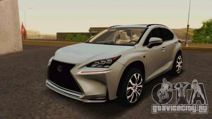 Lexus NX200T v2 для GTA San Andreas