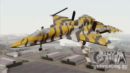 YF-23 Black Widow II Tigermeet для GTA San Andreas