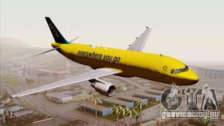 Airbus A320-200 MTN для GTA San Andreas