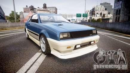Dinka Blista Compact R для GTA 4