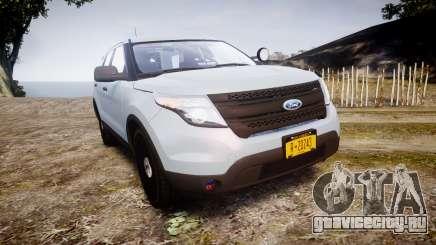 Ford Explorer Police Interceptor 2013 [ELS] для GTA 4